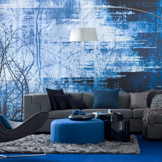 le lin bleu pour votre d coration d int rieur blog lin de france. Black Bedroom Furniture Sets. Home Design Ideas